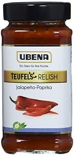 UBENA Jalapeno-Paprika Relish, 3er Pack (3 x 0.345 kg) Relish