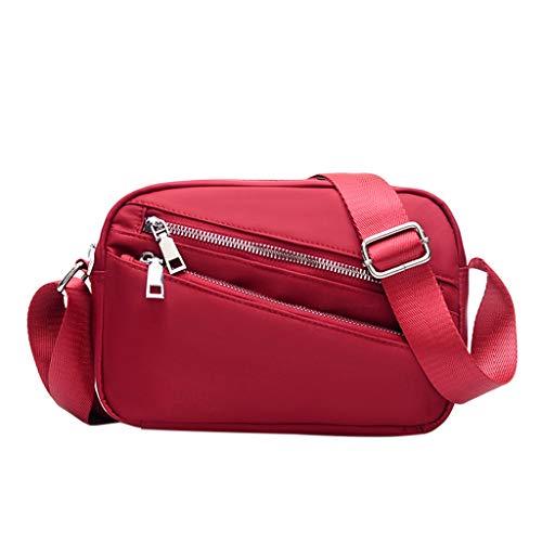 Mitlfuny handbemalte Ledertasche, Schultertasche, Geschenk, Handgefertigte Tasche,Mode frauen reißverschluss einfarbig nylon umhängetasche umhängetasche handytasche -