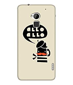 "NH10 DESIGNS 3D PRITING DESIGNER HARD SHELL POLYCARBONATE ""HELLO HELLO"" PRINTED SHOCK PROOF WATER RESISTANT SLIM BACK COVER MATT FINISH FOR HTC ONE MAX/HTCONEMAX/HTCONE MAX"
