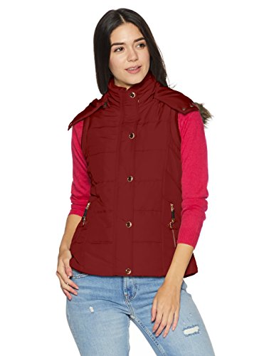 Fort Collins Women's Quilted Synthetic Jacket (Cs150 AZMaroonM)