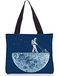 Snoogg Tote Bag 13.5 X 15 Inches Shopping Utility Tote Bag Made From Polyester Canvas - B01GCIMKKQ
