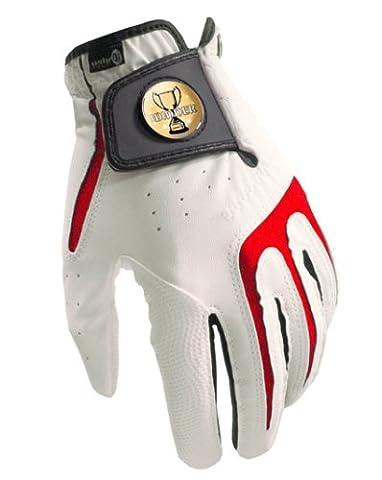 Gants de golf Toutes saisons S1Collection Winner + Marqueur de balle sherpashaw gratuits Rose XL