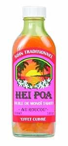 Hei Poa Pur Monoï Tahiti au Roucou 100 ml