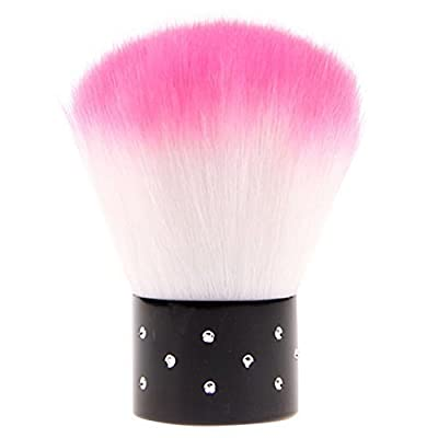 Convenient Colorful Nail Brush For Acrylic & UV Gel Nail Art Dust Cleaner(1pcs random color)