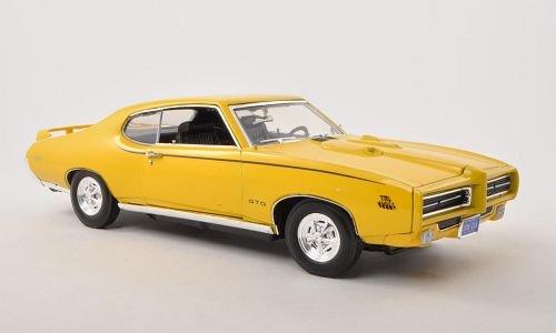 pontiac-gto-judge-gelb-1969-modellauto-fertigmodell-motormax-118