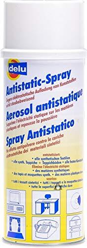 1 Dose Antistatik Spray - gegen elektrostatische Aufladung, 400 ml - made in Germany