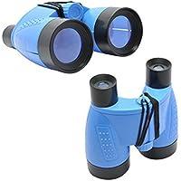 Cido 2017 al aire libre Prismáticos Plegable para niños Telescopio Niños juguete NUEVO verde / azul