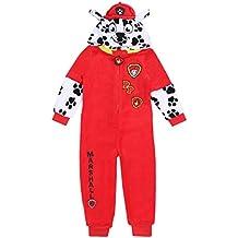 Pijama de una Pieza roja La Patrulla Canina