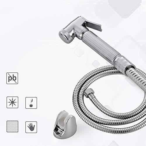 ABS Spritzkopf für persönliches, hygienisches Hand-Bidet-Set Premium Wasser Spritzgerät, Stoffwindel Babybrause mit Aufsatz