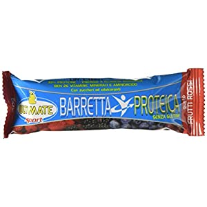 Barretta Proteica – Barretta 33% Di Proteine - Con Vitamine, Minerali, Aminoacidi – Ideale Nella Dieta Per Il Potere… 2 spesavip