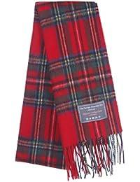 The Tartan Blanket Co. Écharpe en laine d agneau - Stewart Royal Tartan 2264837ee10