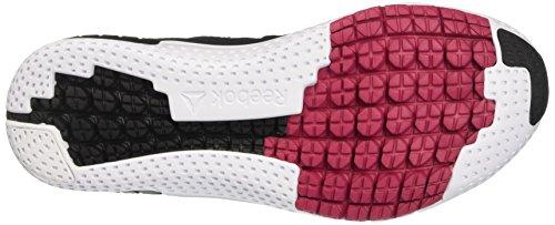 Reebok Damen Zprint 3D Laufschuhe Schwarz (Black/coal/pink Craze/pewter/white)