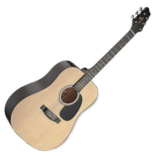 Stagg SW201N Chitarra Acustica Dreadnought, Naturale