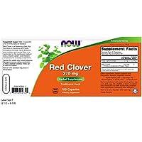 NOW Red Clover 375mg, 100 Stück preisvergleich bei billige-tabletten.eu