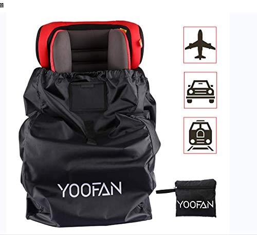 Kindersitz Tasche- Robuste Kindersitz Transporttasche Transportable Reisetasche für Autositz Schutz vor Wasserdicht + Staubdicht+Vandalismus Passt auf die meisten Marken