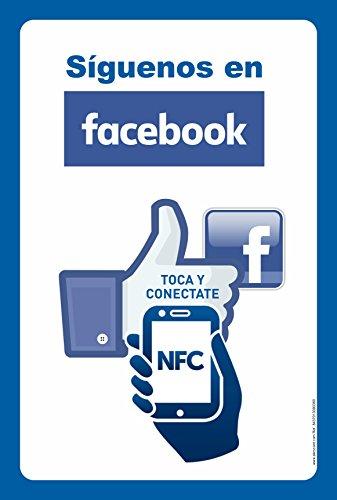 senaletica-inteligente-siguenos-en-facebook-cartel-nfc-con-chip-de-memoria-preconfigurado