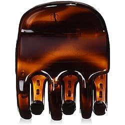 Caravana X Grande Garra Clip Tortuga 44mm (garras del pelo y pinzas para el cabello)