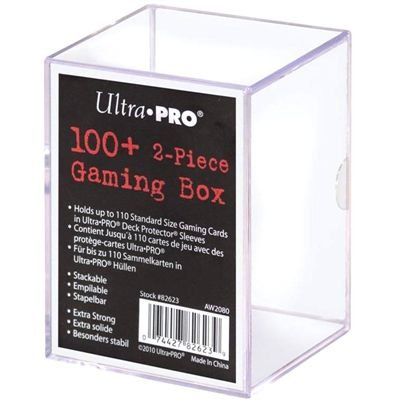 Ultra Pro Deck 100+ 2-Piece Gaming Box