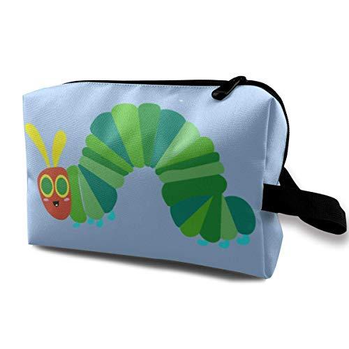 Die sehr hungrige Caterpillar Travel Makeup Bag Kosmetiktaschen Toleitry Bag mit Reißverschluss
