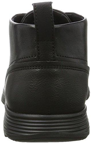 Geox Herren U Snapish B Hohe Sneaker Schwarz (Black)