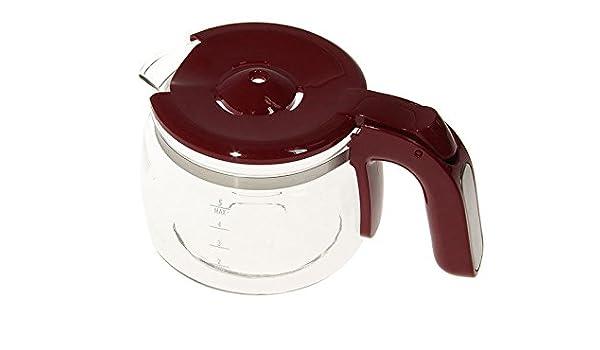 Delonghi caraffa boccale tazza rossa caffettiera a filtro americana ICM14011
