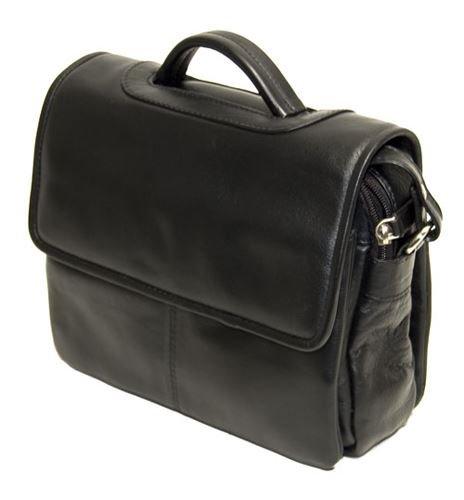 Visconti Atlantic - Petit sac à bandoulière / sac d'organisation en cuir souple véritable - BETH # 1375