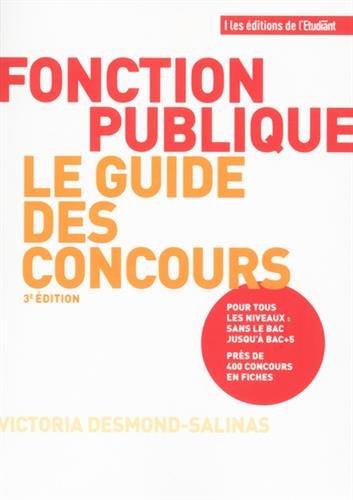 Fonction publique, le guide des concours