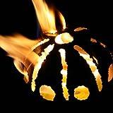 Gartenfackel Feuerkugel – Sonne XL + 1Liter Brennpaste für Gartenfackel Feuerkugel – Sonne XL + 1Liter Brennpaste