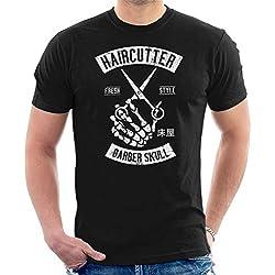 Coto7 Haircutter Fresh Style Barber Skull Men's T-Shirt