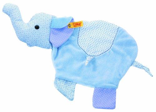 STEIFF 235849 - Elefant Schmusetuch 30 cm, hellblau