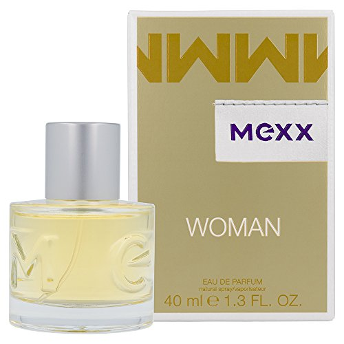Mexx Woman - Eau de Parfum Natural Spray - Blumig-frisches Damen Parfüm mit Zitrone, Rose und Jasmin - 1 er Pack (1 x 40ml) -