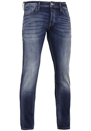 JACK & JONES Herren Jeanshose Blue Denim