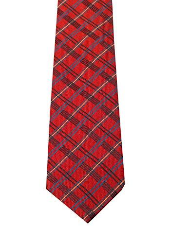 Für Männer Gucci-krawatten (CL - Gucci Red Checked Patterned Tie)