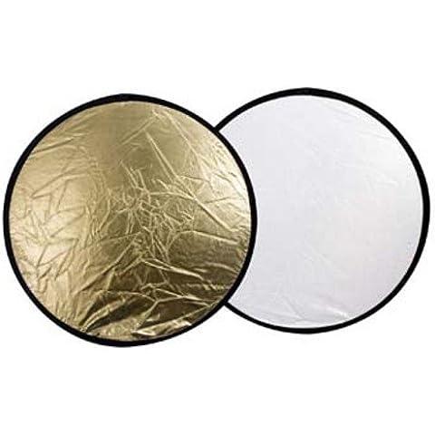 Linkstar riflettore 2in 1, R r-80gs oro/argento