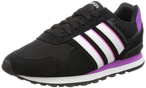online store 673db 3a49f adidas Damen 10K W Turnschuhe, Black (Negbas Ftwbla Pursho) 36 2