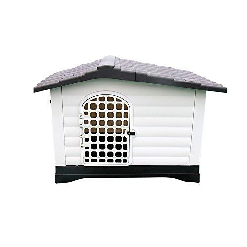 ZH Nido de Perro-Nido de Mascotas Jaula de Perro Grande Cage de plástico para Mascotas Retriever de Gato Nido de Gato Extraíble y Lavable Cama de Perro Fossa Outdoor Dog House Waterproof /#