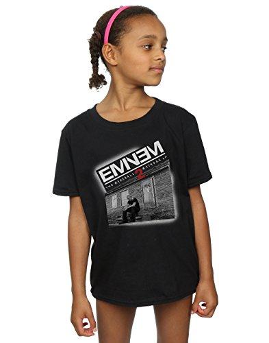 T-shirt Für Mädchen Eminem (Eminem Mädchen Marshall Mathers 2 T-Shirt 5-6 Years Schwarz)