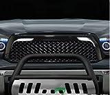Nero opaco in acciaio INOX martellato Bull bar pennello griglia paraurti guardia Skid Plate Tundra/Sequoia by R & L Racing