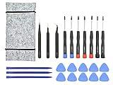 Kit di strumenti di riparazione per Apple MacBook Pro, cacciaviti per retina e aria, plettri aperti, spudger e borsa per attrezzi (23 pezzi)