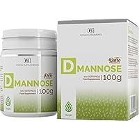 D-Mannosio Pura Polvere al 100% - Salute Vescica   Infezione Urinaria   Sistema Immunitario - Trattamento Mirtilli Rossi Senza Additivi - Focus Supplements (100g)