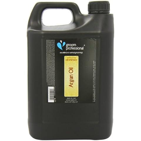 Sposo professionale Olio di Argan Shampoo, 4 litri