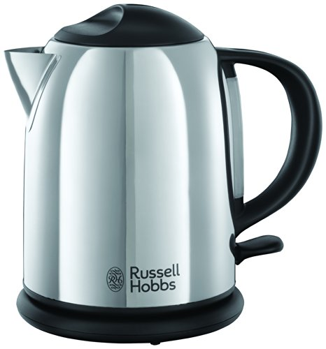 Russell Hobbs 20190 Chester Compact Kettle, Stainless Steel
