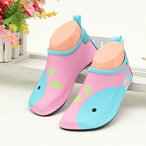 HIUGHJ Zapatos Playa niños Zapatillas casa Ligeras
