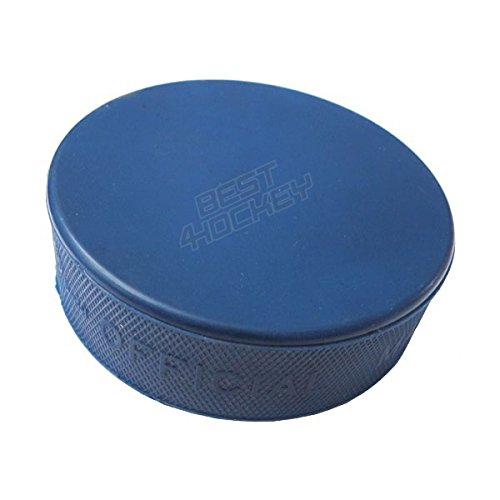 Eishockey Puck junior blau 4OZ, blau für Kinder