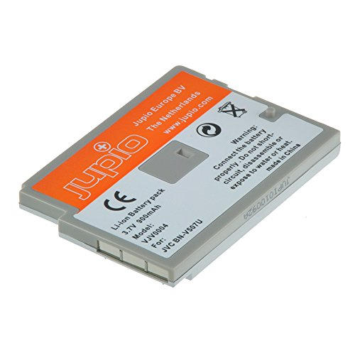 Jupio VJV0004 - Batería para videocámara equivalente a JVC BN-V507 (lithium ion, 900 mAh)
