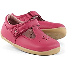 Bobux Step Up Girls Reign T-bar Shoes Rose Pink