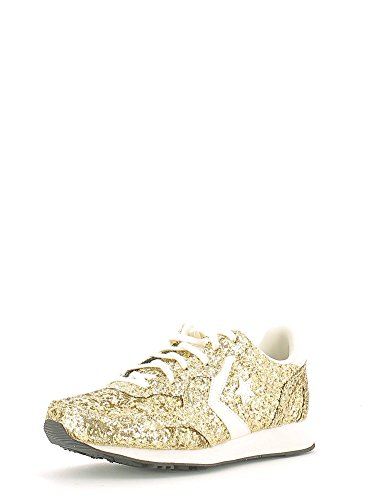 Converse - Auckland Racer Ox Glitter, Sneaker Donna Oro