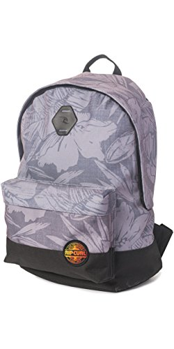 2017 Rip Curl Modern Retro Dome Backpack GREY BBPID4