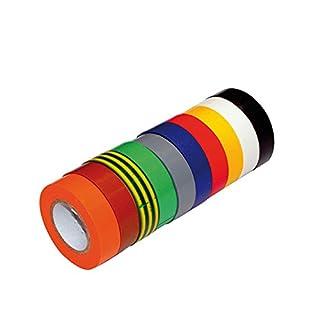 10 Stück verschiedene PVC-Isolierbänder für den allgemeinen Gebrauch