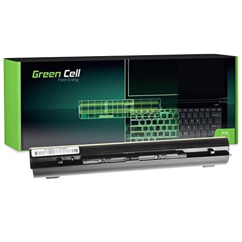 8 Zellen Li-ionen Akku (Green Cell Extended Serie L12M4E01 Laptop Akku für Lenovo G400s G405s G500s G505s G510s IdeaPad S510p Z710 (8 Zellen 4400mAh 14.4V Schwarz))